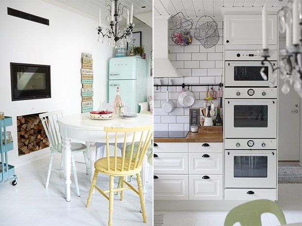 The kitchen is the family's favorite rooms