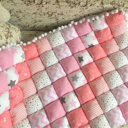Купить или заказать Бомбон одеяло в интернет-магазине на Ярмарке Мастеров. Бомбон одеяло послужит тёплым одеялом для вашего малыша или ковриком для…
