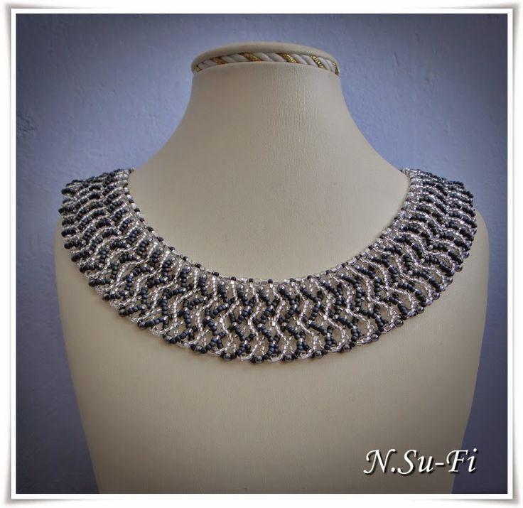 "Biżuteria od N.Su-Fi: Naszyjnik ""Belferka"""