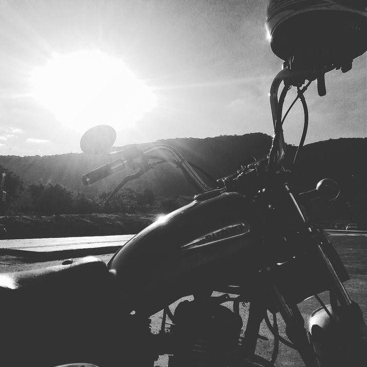 Na Terra só 2 animais sabem a felicidade de sentir o vento na cara: o cachorro e o motociclista  #moto #motocicleta #motociclismo #motogrupo #mg #intruder #ventonacara #hunter #road #estrada by me