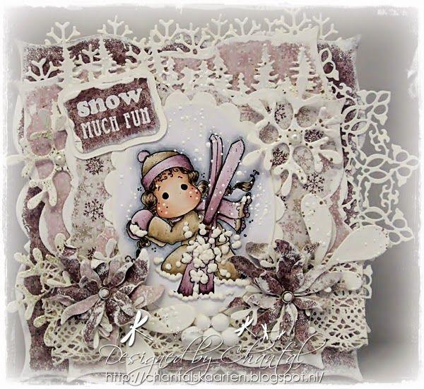 Cards made by Chantal: Twee voor de prijs van één! Winter Wonderland