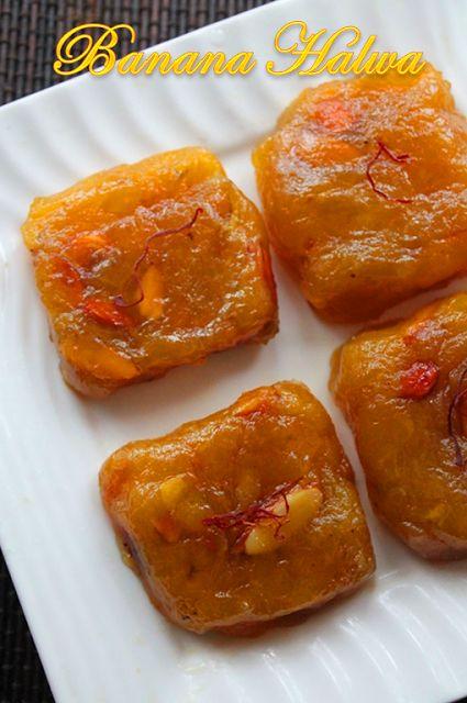 YUMMY TUMMY: Kerala Banana Halwa Recipe / Nendran Banana Halwa Recipe