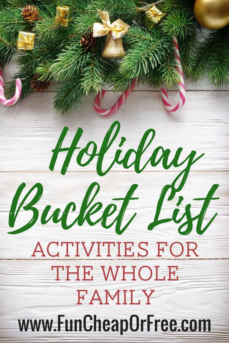 Papas donuteria mobile - The Ultimate Holiday Bucket List Free Printable Christmas Break Boredom Buster