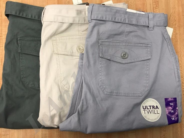 Gloria Vanderbilt Sierra Bermuda Shorts Ultra Twill Women's Variety NEW