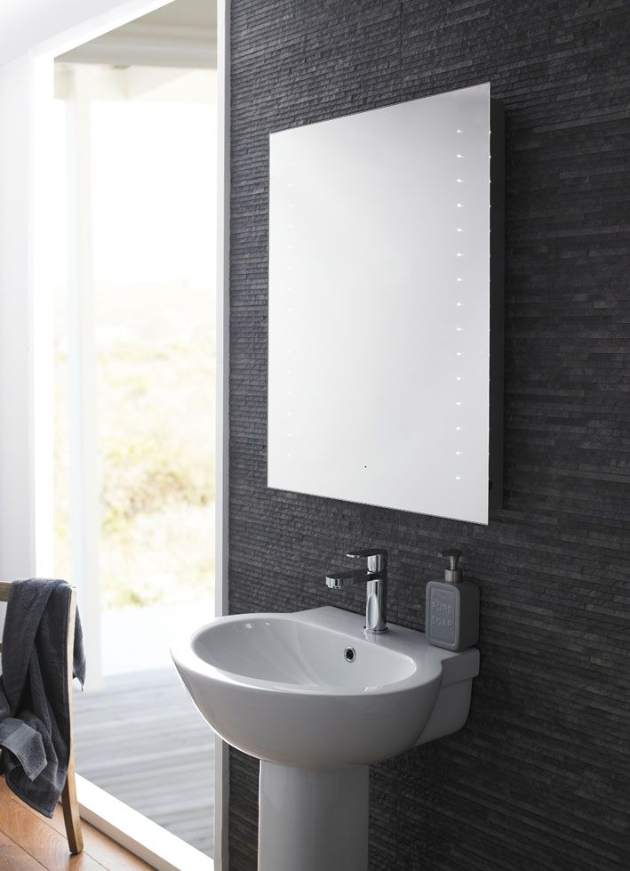 The Corona Mirror Features Motions Activated LED Lights, Demister Pad And  Bluetooth Connection With Stereo