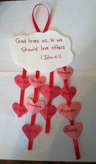 John Wrote About Love Bible Craft - Children's Bible Activities | Sunday School Activities for Kids