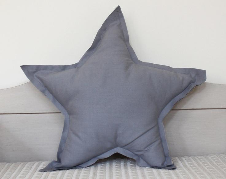 : Shape Pillows, Cool Pillows, Stars Pillows, Diy Fashion, Starshap Pillows, French Gray, Stars Shape, Diy Decor, French Grey