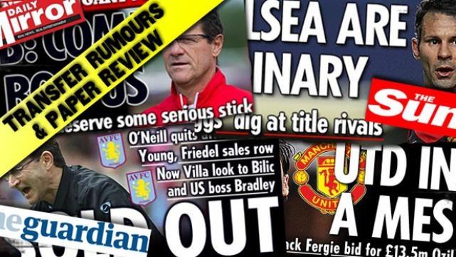Tuesday's gossip column 12th February, 2013