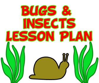 UNITS: NATURE/SCIENCE -Preschool bug theme and insect lesson plans
