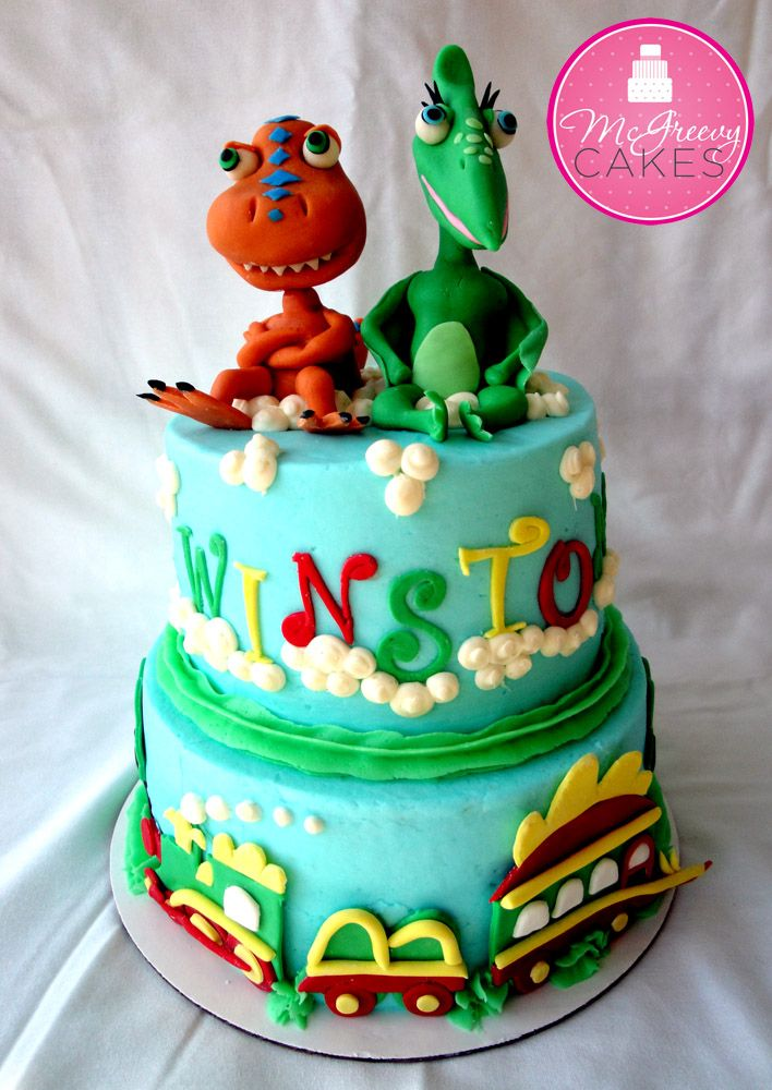 Got to be for Weston's 1st Birthday! He is all about some Dinosaur Train cake