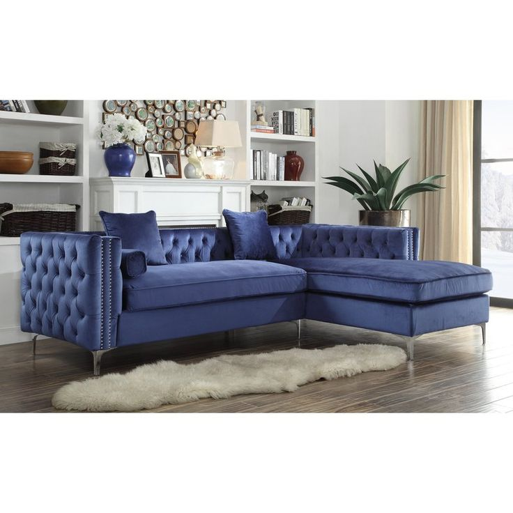 Best 25 silver velvet sofa ideas only on pinterest grey for Button tufted velvet chaise settee green