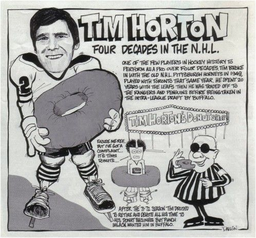 From greatest #hockey players to be the founder of the famous #coffee shop, from Tim Horton to be #TimHortons. It's #AlwaysFresh. #MKM915