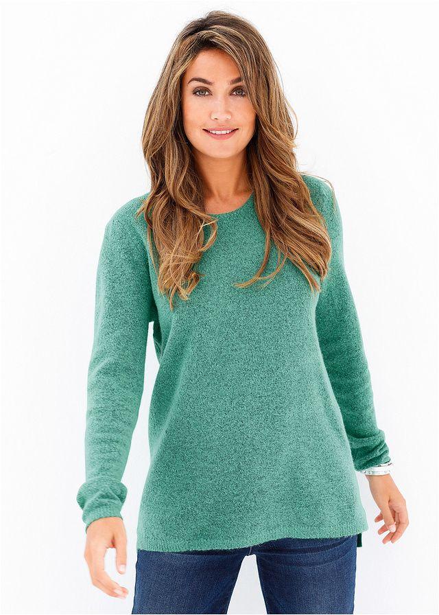 Sweter z puszystej przędzy Z puszystej • 49.99 zł • bonprix