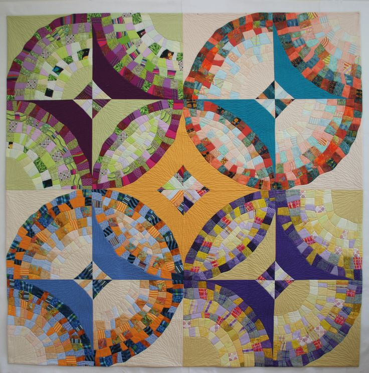 300 best Quilts Wedding Ring Orange Peel Pickle Dish and