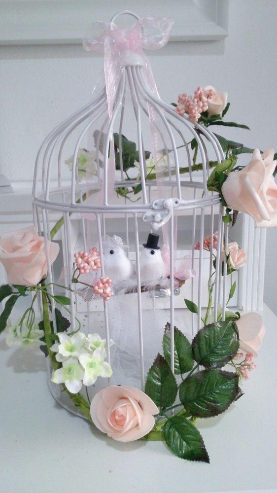 Geldgeschenk  Hochzeit ♥ Hochzeitsgeschenk ♥ Brautpaar Geschenk Vogelkäfig …