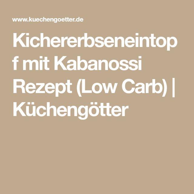 Kichererbseneintopf mit Kabanossi Rezept (Low Carb) | Küchengötter