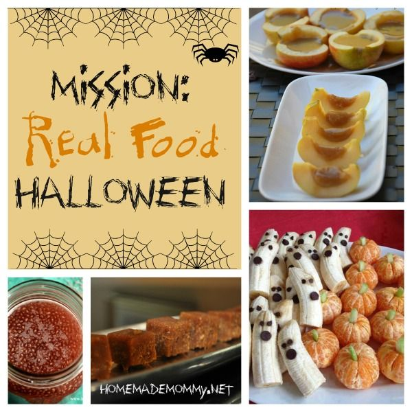 mission real food halloween - Halloween Themed Birthday Party