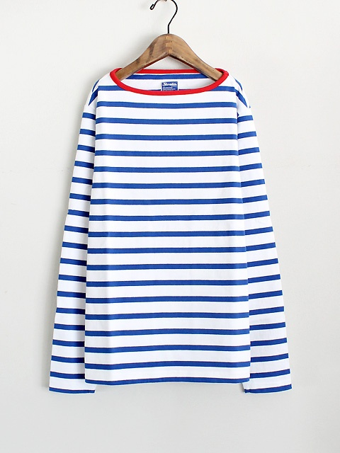 Strato gasiten boat neck long tee SARO
