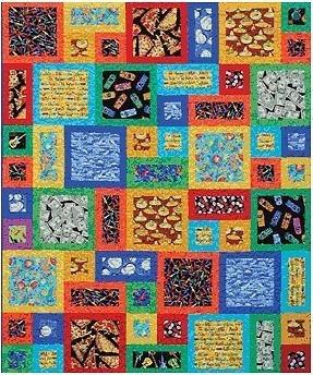 All About Me Quilt Pattern Atkinson Designs Fat Quarter