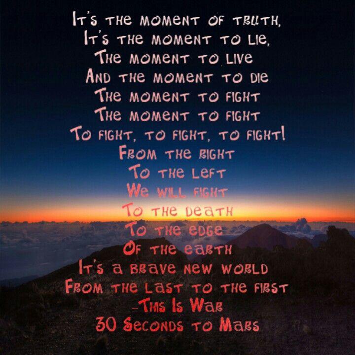 Thirty Seconds to Mars – This is War Lyrics   Genius Lyrics