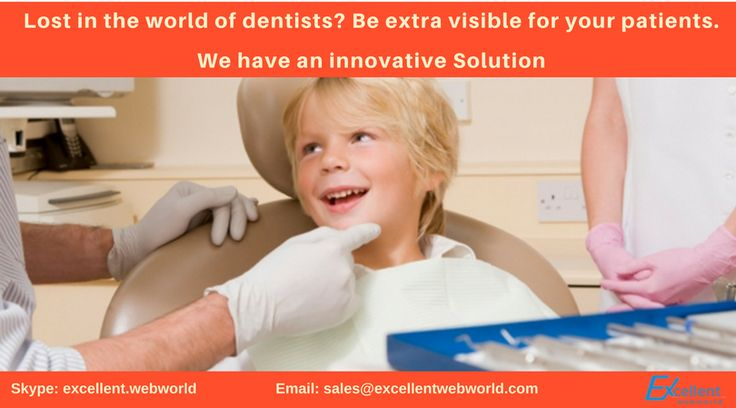 Lost in the world of #dentists? Be extra visible for your patients.  We have an innovative Solution