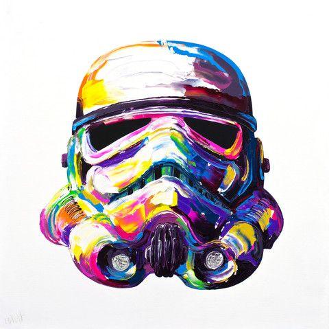 Storm Trooper Painting by Brent Estabrook | BrentEstabrook