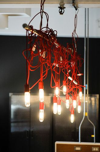 cords and lights  http://www.officedesigngallery.com