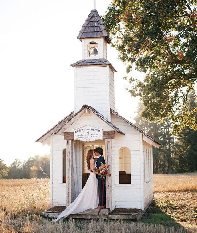 How Sweet Is This Tiny Little Chapel In The Field Another Photo From