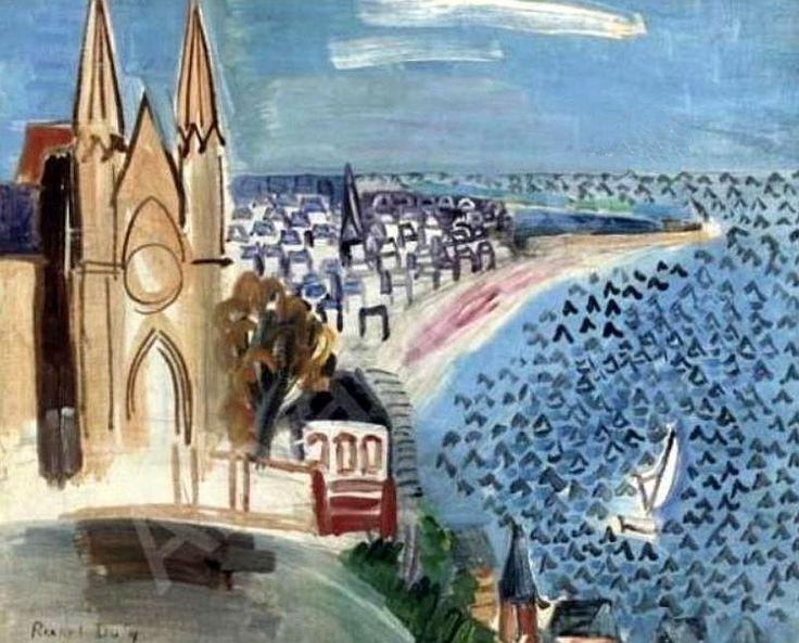Entrée du port du Havre,Entrance to the Port of Havre) - Raoul Dufy 1924