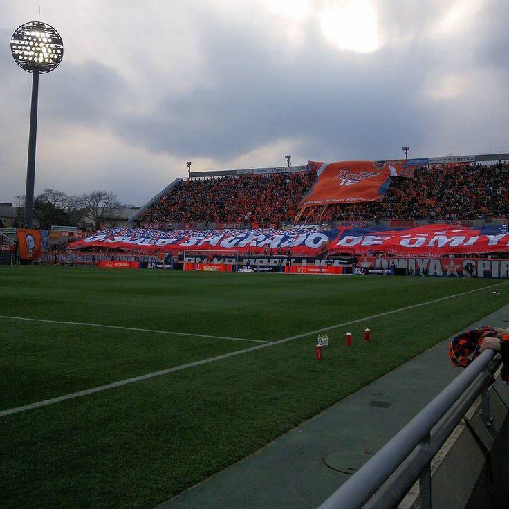 March - 07 - 2016 . Omiya Ardija - Kashiwa Reysol @ Nack5 Stadium Omiya  03/05/16. 最前列で観れるなら何回でも行こうと思う(笑) 次は埼玉ダービーを最前列で観れるようにだね #thechickenbaltichronicles #japan #japon #football #futbol #futebol #fussbal #voetbal #calcio #soccer #instafootball #jleague #stadium #estadio #stadion #march #monday #日本 #サッカー #jリーグ #大宮アルディージャ by 708ggg