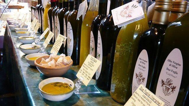 Biologische olijfolie boerderij