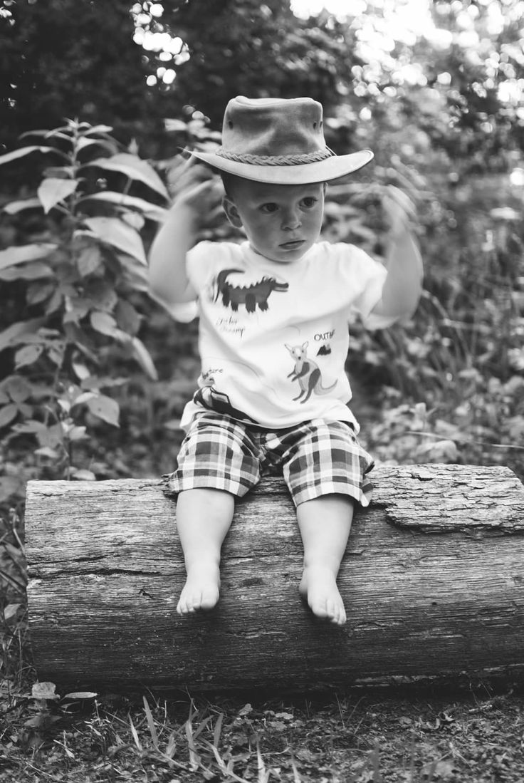 Never too early to wear a Barmah Hat.