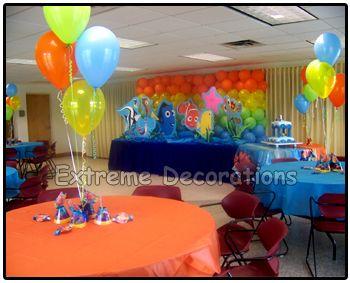 Finding Nemo party balloon ideas