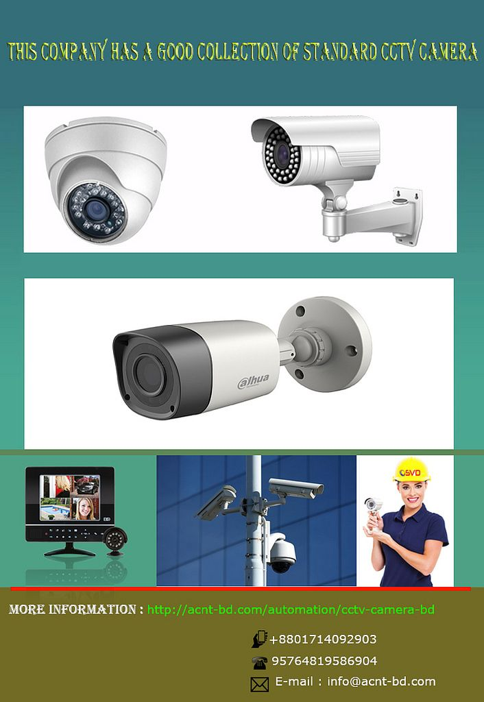 https://flic.kr/p/SDD7E8 | CCTV Camera Bangladesh | CCTV Camera Price in Bangladesh | Acnt-bd.com is providing latest cctv camera price in Bangladesh offering dahua, jovision, hikvision, compro cctv camera in Bangladesh