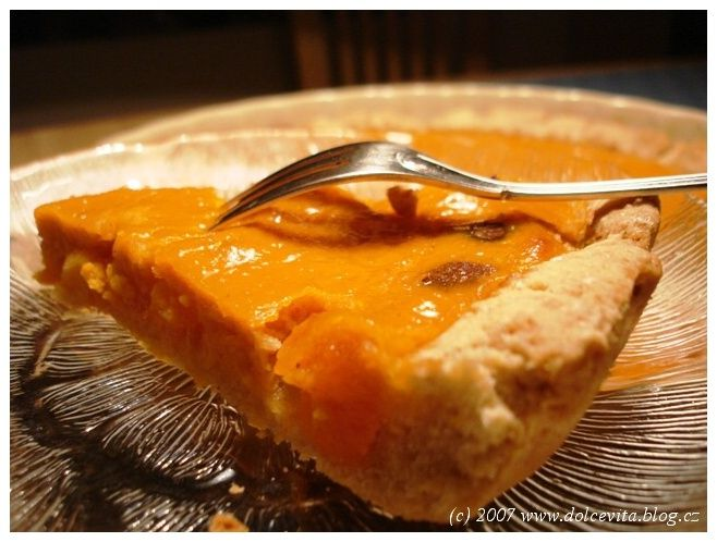 Dýňový koláč - Pumpkin Pie - americká klasika