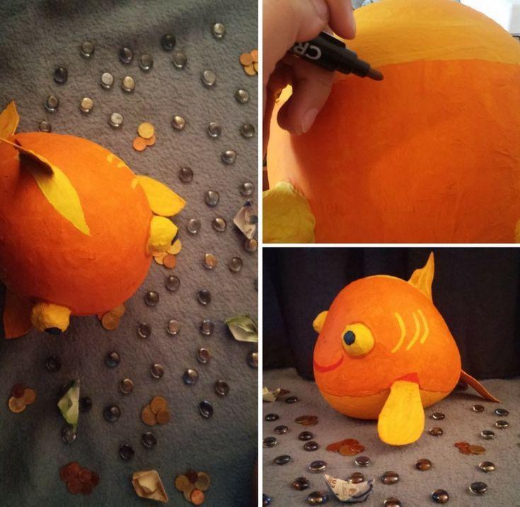 Craft Money Box – Der Leitfaden für einen Fisch – Basteln – #Basteln #Craf … … – Selber Machen