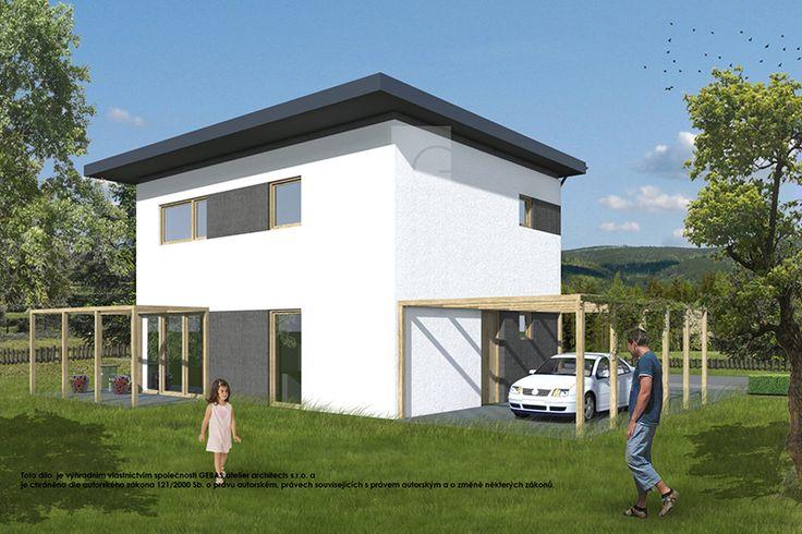 Projekt rodinného domu vám zpracujeme v jedné z nabízených energetických tříd (C, B, A) a v materiálové variantě (pálená cihla, pórobeton, vápenopísková cihla, dřevostavba) dle vašeho požadavku.
