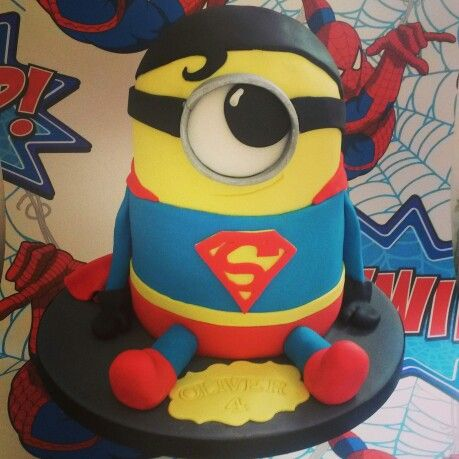 Is it a bird? Is it a plane? No it's only superman minion :) ♡♥♡♥♡