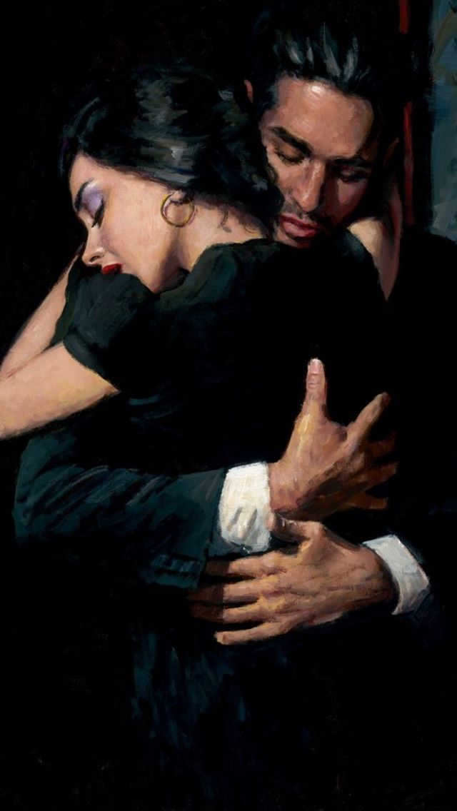 """The Embrace"" Fabian Perez"