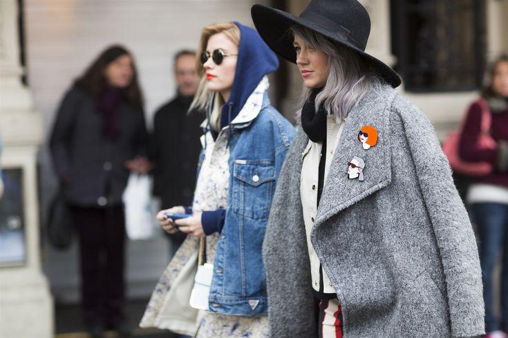 Sokak Stili: 2015 Sonbahar Londra Moda Haftası 3.Gün