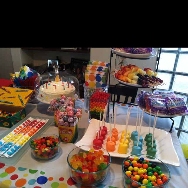 Crayola Birthday Party!