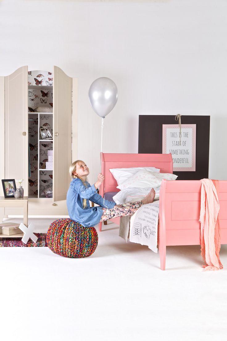 29 beste afbeeldingen over karwei slaapkamer idee n op pinterest pastels gordijn roeden en for Meisje slaapkamer idee