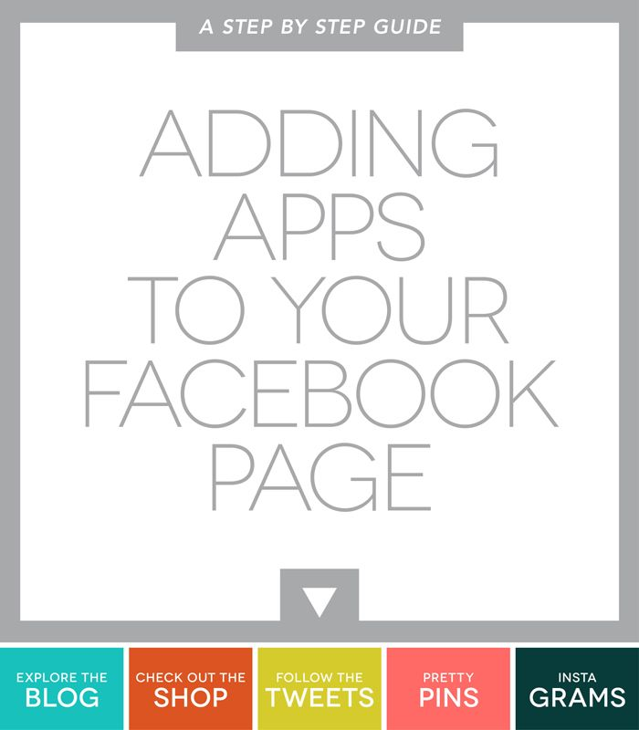 Adding Apps on Facebook | Ciera Design | Brand Identity + Graphic Design