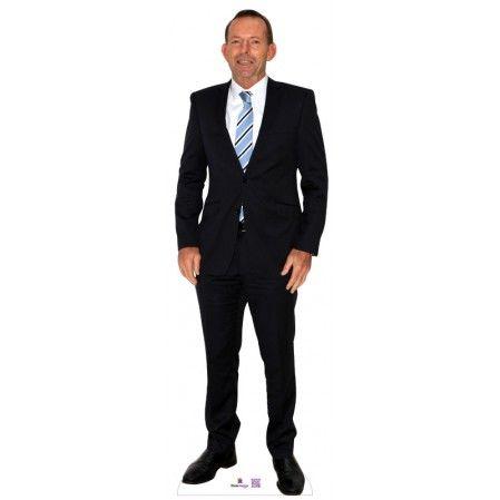 Tony Abbott Cardboard Cutout   Height: 170cms