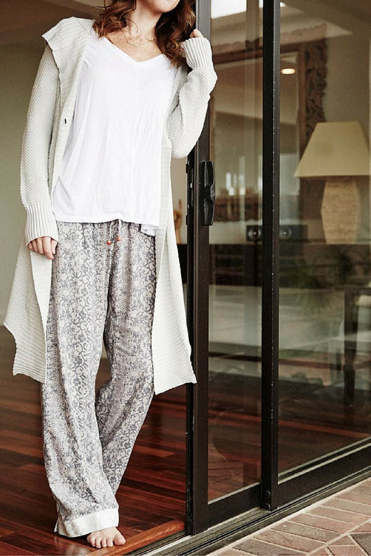 Beautiful, comfortable pajamas for women. Made proudly in India by women working to remain free from sex slavery. Perfect for meaningful holiday gifts or a little something for yourself.