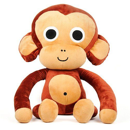 Cheempo Soft Toy Big Size  Cheempo   Softoy of 20 inches / 50 cm with augmented reality content for the habitat where chimpanzees live that you will be able to discover with your smartphone or tablet.     Every Cheempo Product Sold Helps Protect Chimpanzees.      #toys #toysforsale #kidstoys #handmadetoys #softtoys #plushtoys #stuffedanimals #janegoodall #nature #endangeredspecies #chimpanzees #animals #cuteanimals #loveanimals #animalrights #animalsaddict #animalslover #animalprotection