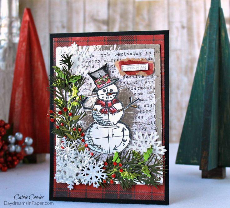 Handmade Card with Deco Foil