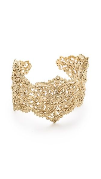 IaM by Ileana Makri Chantilly Lace Cuff