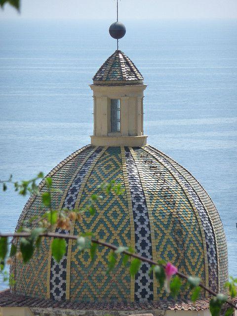 Positano Dome - Positano by the sea, province of Salerno, Campania region, Italy