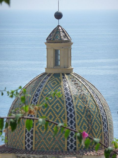 Positano Dome - Positano by the sea, province of Salerno, Campania region, Italy